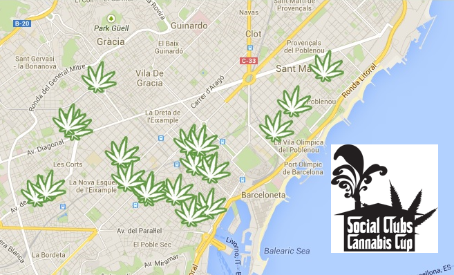 1ere social club cannabis cup barcelone blog du for Sibaritas club