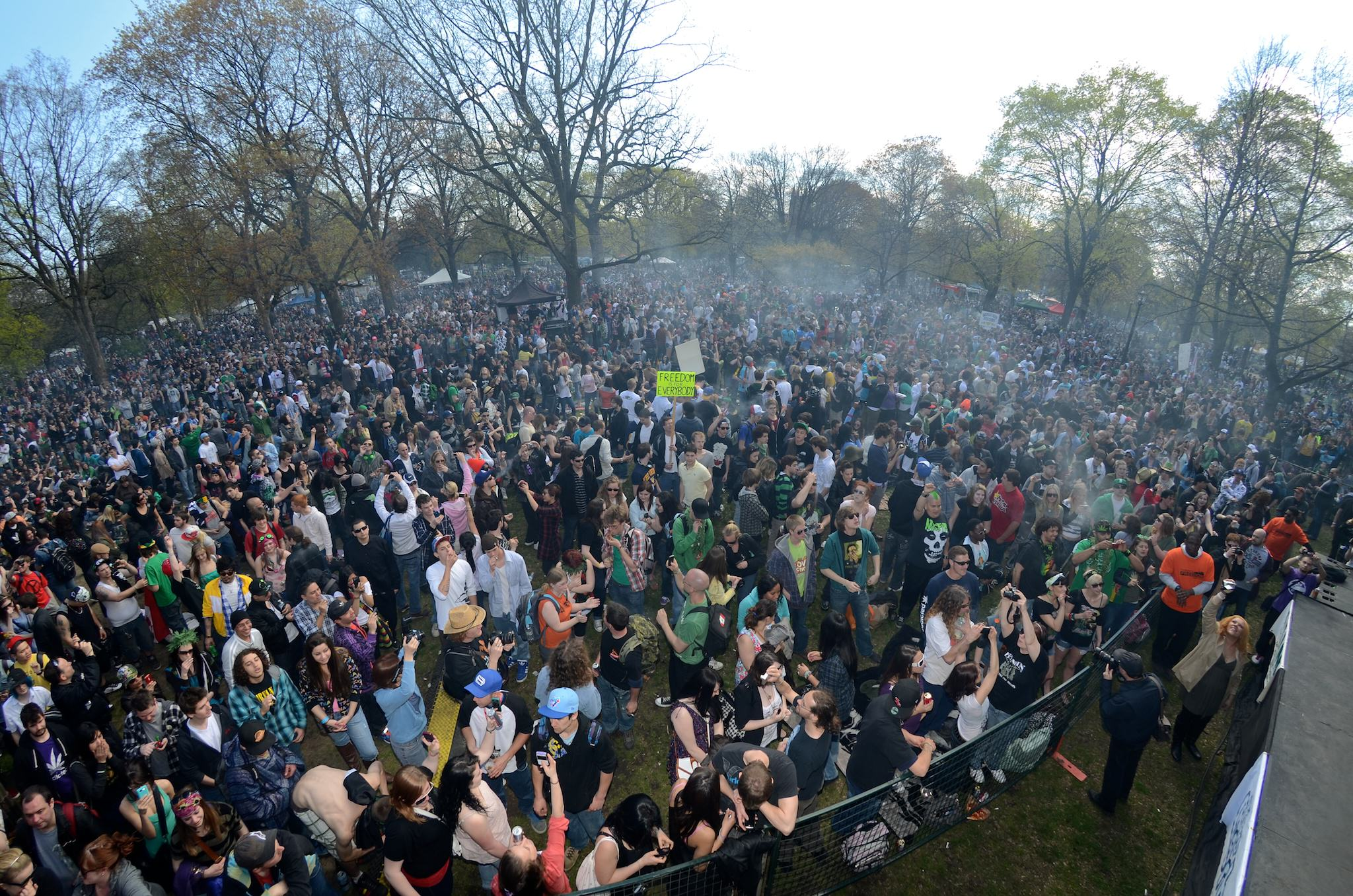 Marche du cannabis à Toronto (Canada) en 2013