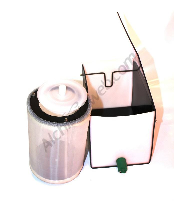 Machine d'extraction de résine à sec