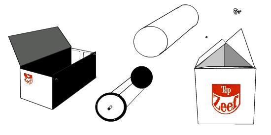 Schéma de montage du Top Zeef