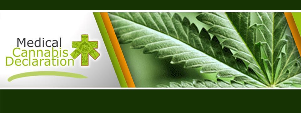 Déclaration pour le cannabis médical