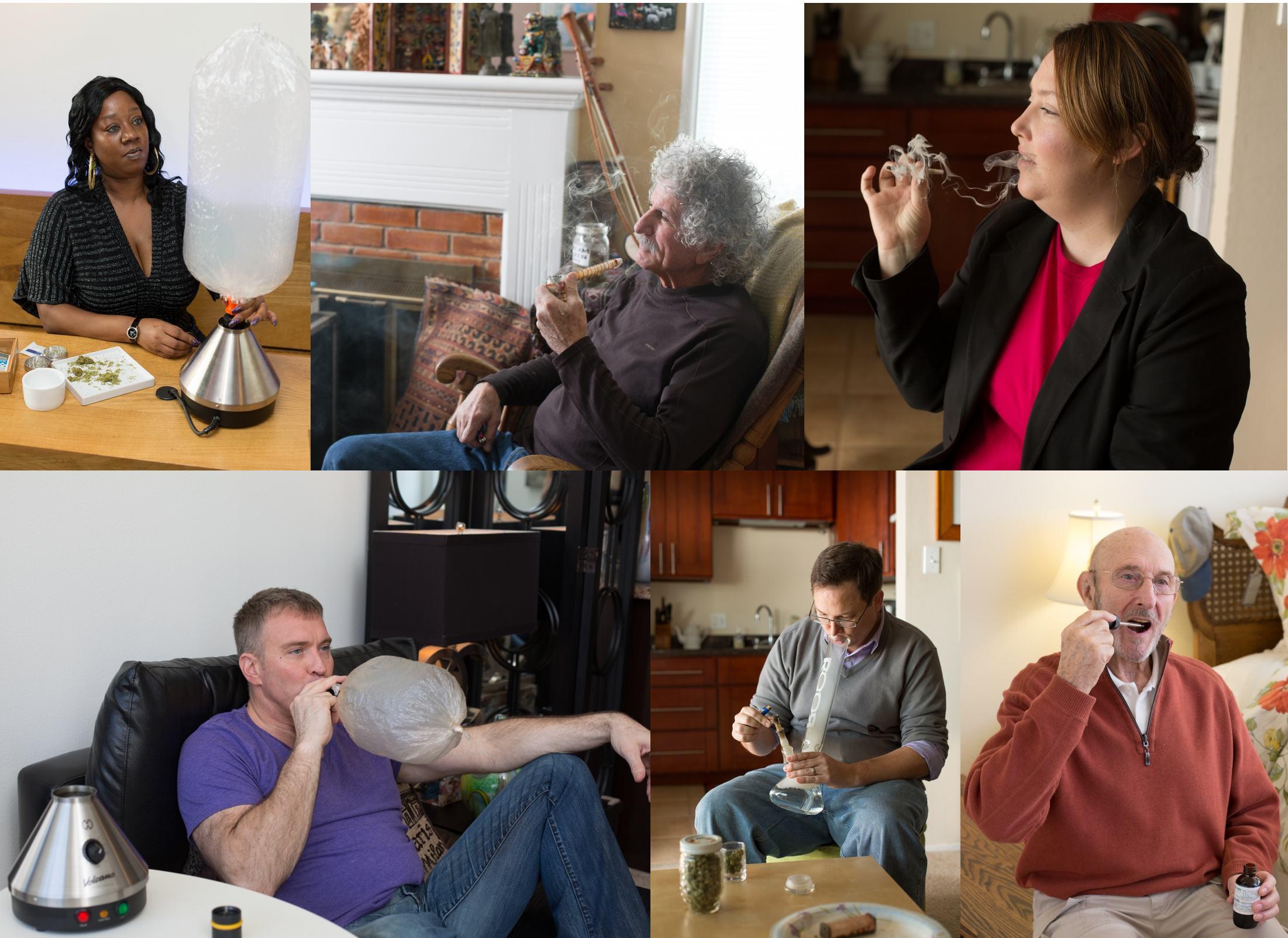 Patients utilisant le cannabis thérapeutique