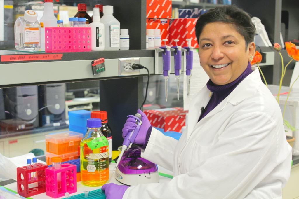 La Dr Kalpna Gupta mène des études sur le cannabis et la drépanocytose