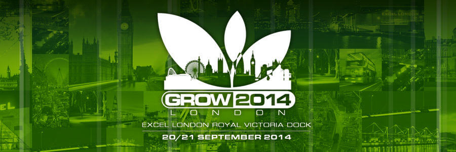 Feria du cannabis à Londres Grow 2014