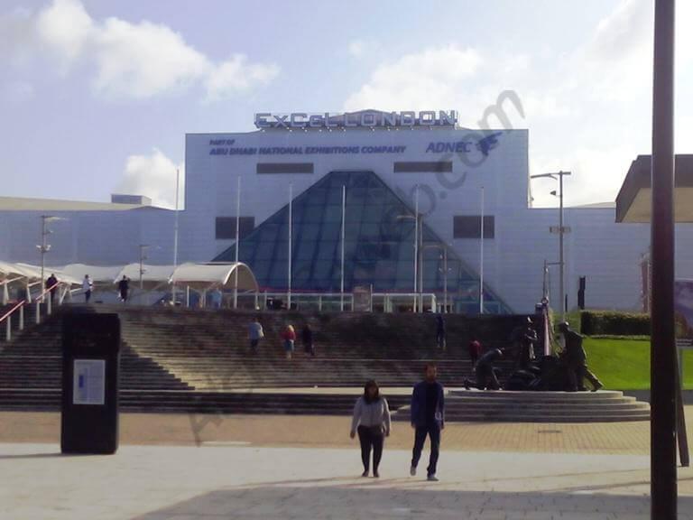 Excel Docklands enceinte de la feria