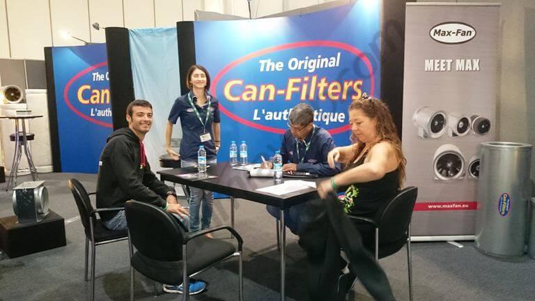 En pleine discussion avec Can-Filters