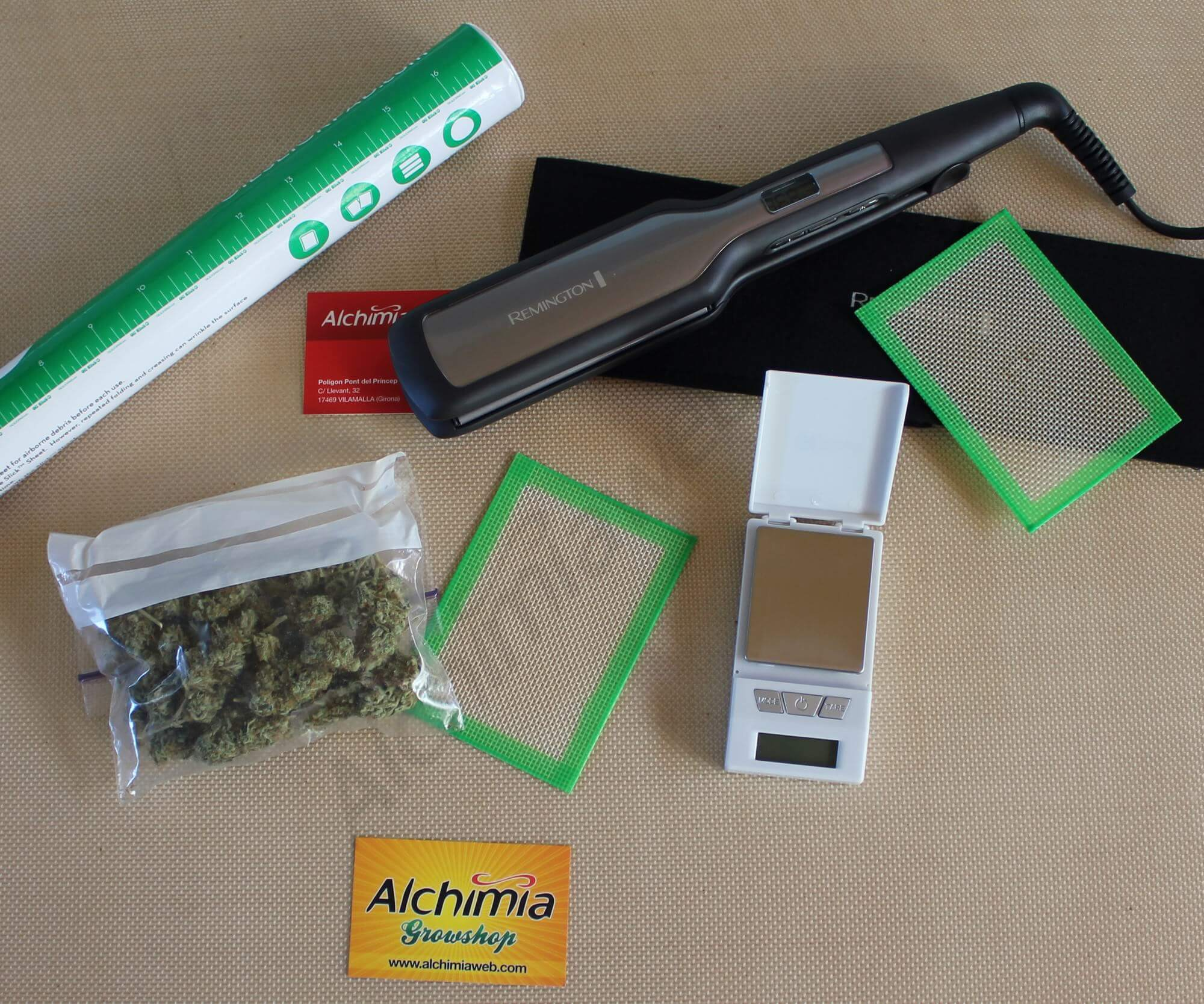 Le Hash Rosin Tech Blog Du Growshop Alchimia