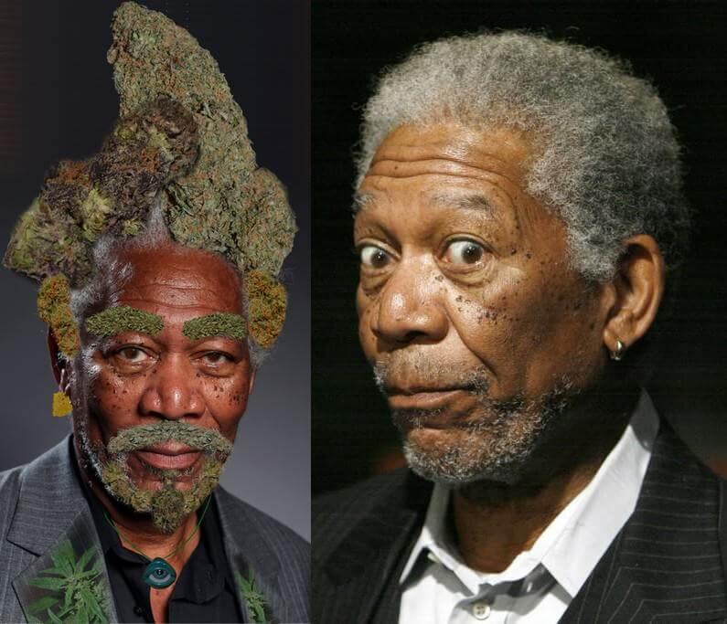L'acteur Morgan Freeman est un gros consommateur de cannabis médical