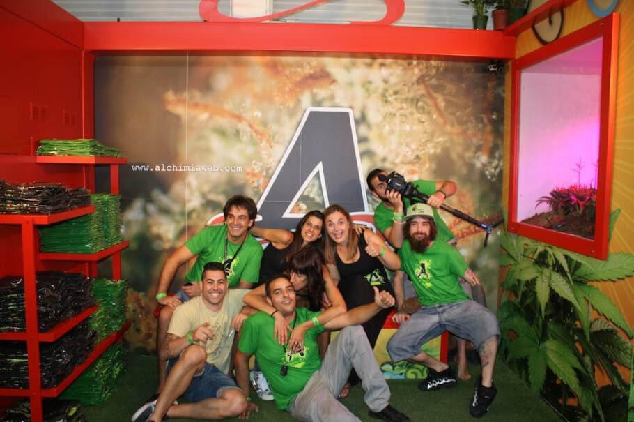 Alchimia à Expogrow 2014