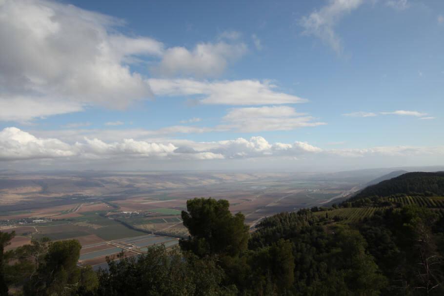 Région israélienne de Galilée, dans laquelle Tikun Olam possède ses installations. (Photo : Saul Adereth)