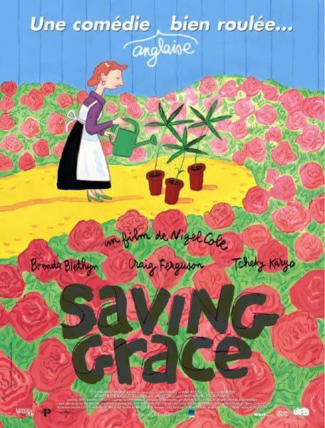 Saving Grace, quand une experte en orchidées à la retraite s'intéresse au cannabis