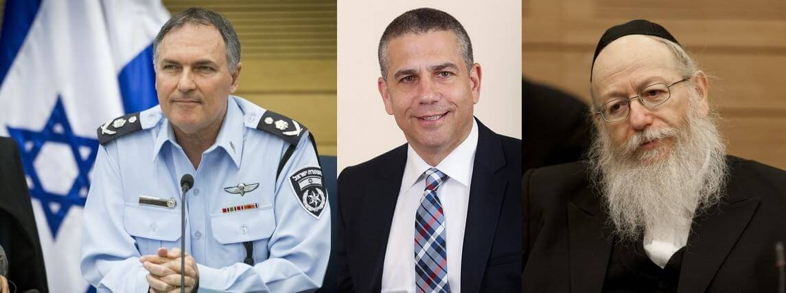 Des politiques tels que le chef de la police (à gauche) ou le ministre de la santé (à droite) aident à normaliser le cannabis.