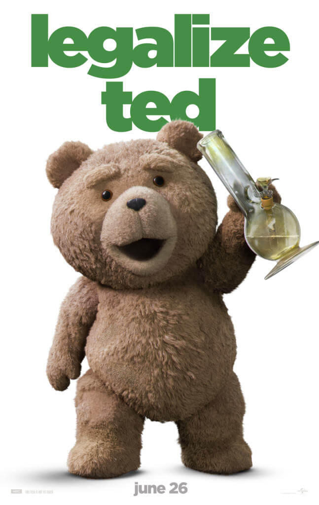 Ted, l'ours stoner