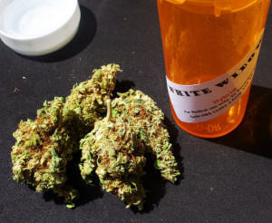 Cannabis médical en vente dans un dispensaire des Etats-Unis (Photo : Flickr)