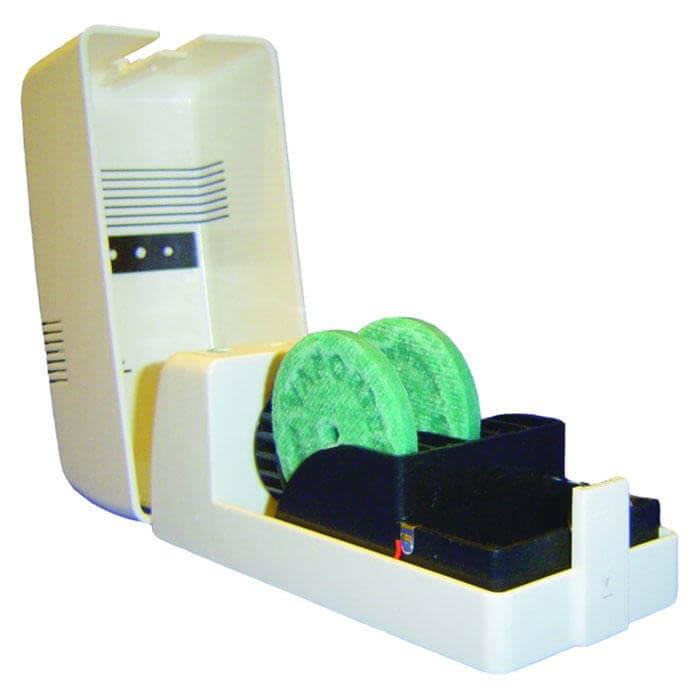 Le Vaportronic utilise des disques anti-odeur