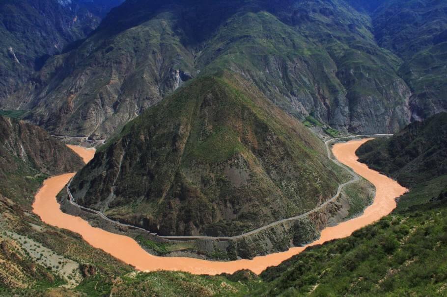 Le fleuve Yangtze, l'une des possibles zones d'origine du cannabis