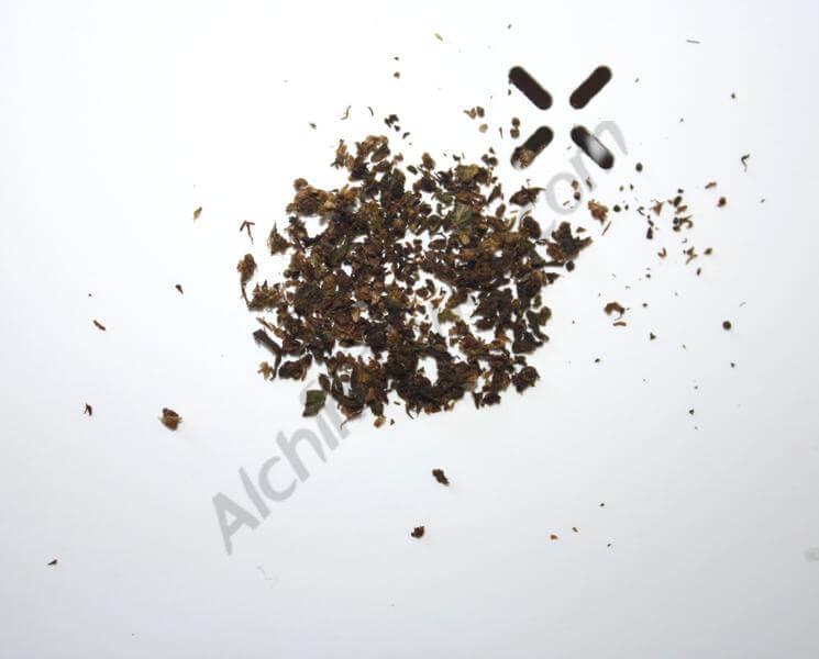 Cannabis après vaporisation avec le Pax 2