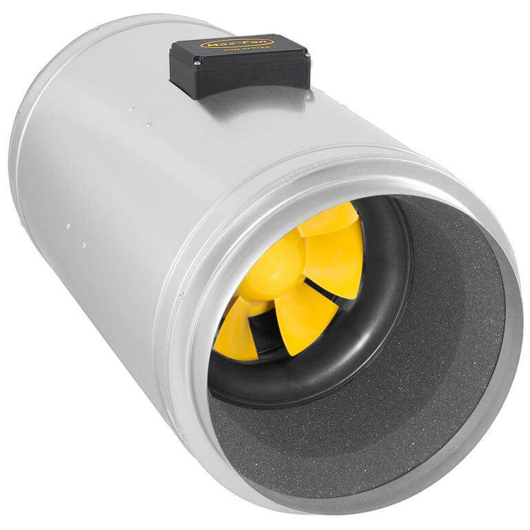 Extracteur Q-Max 250 avec la nouvelle technologie EC de Can-Fan