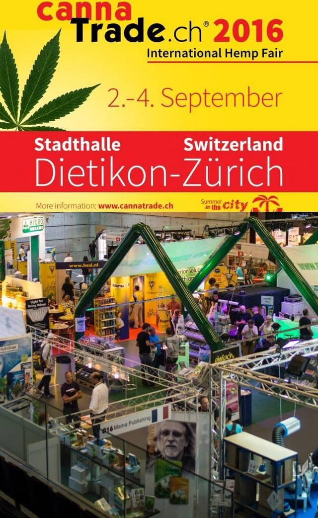 Calendrier 2016 Des Salons Et Cannabis Cups En Europe - Blog Du Growshop Alchimia