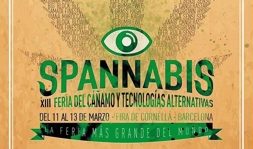 Affiche de la Spannabis 2016