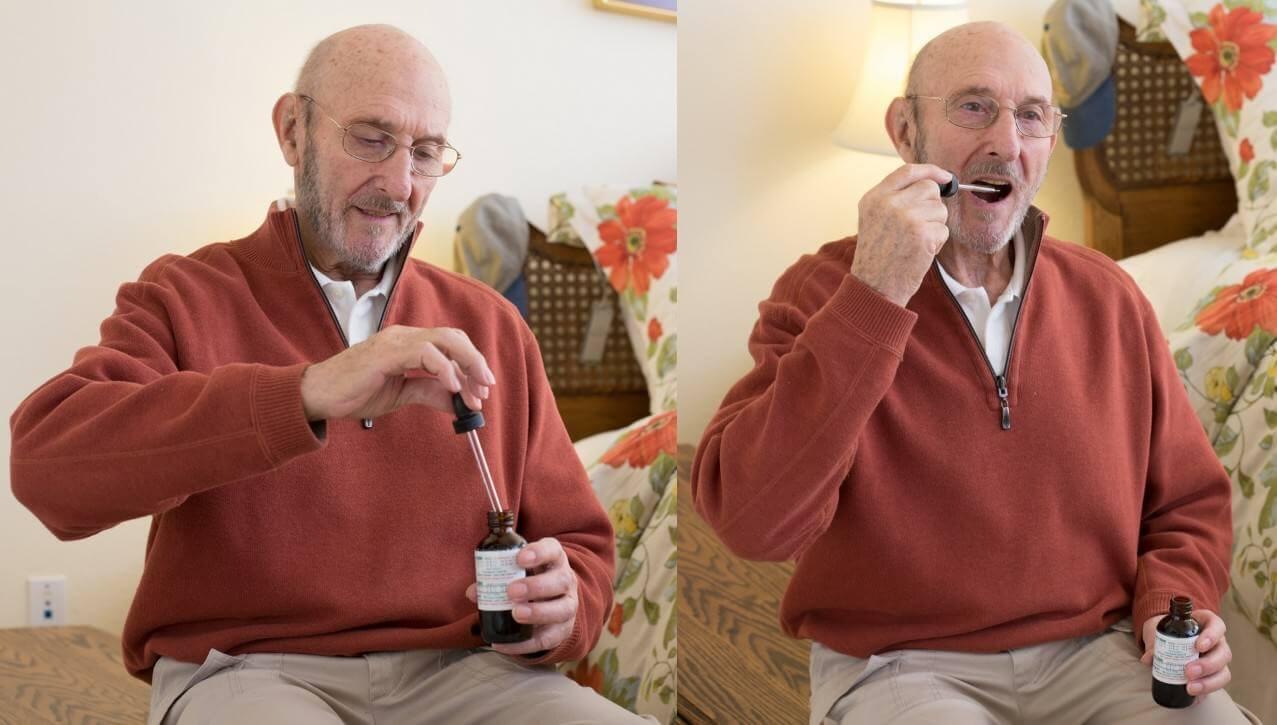 Le cannabis médical peut aussi être consommé sous forme d'huile (photo: drugpolicy.org)
