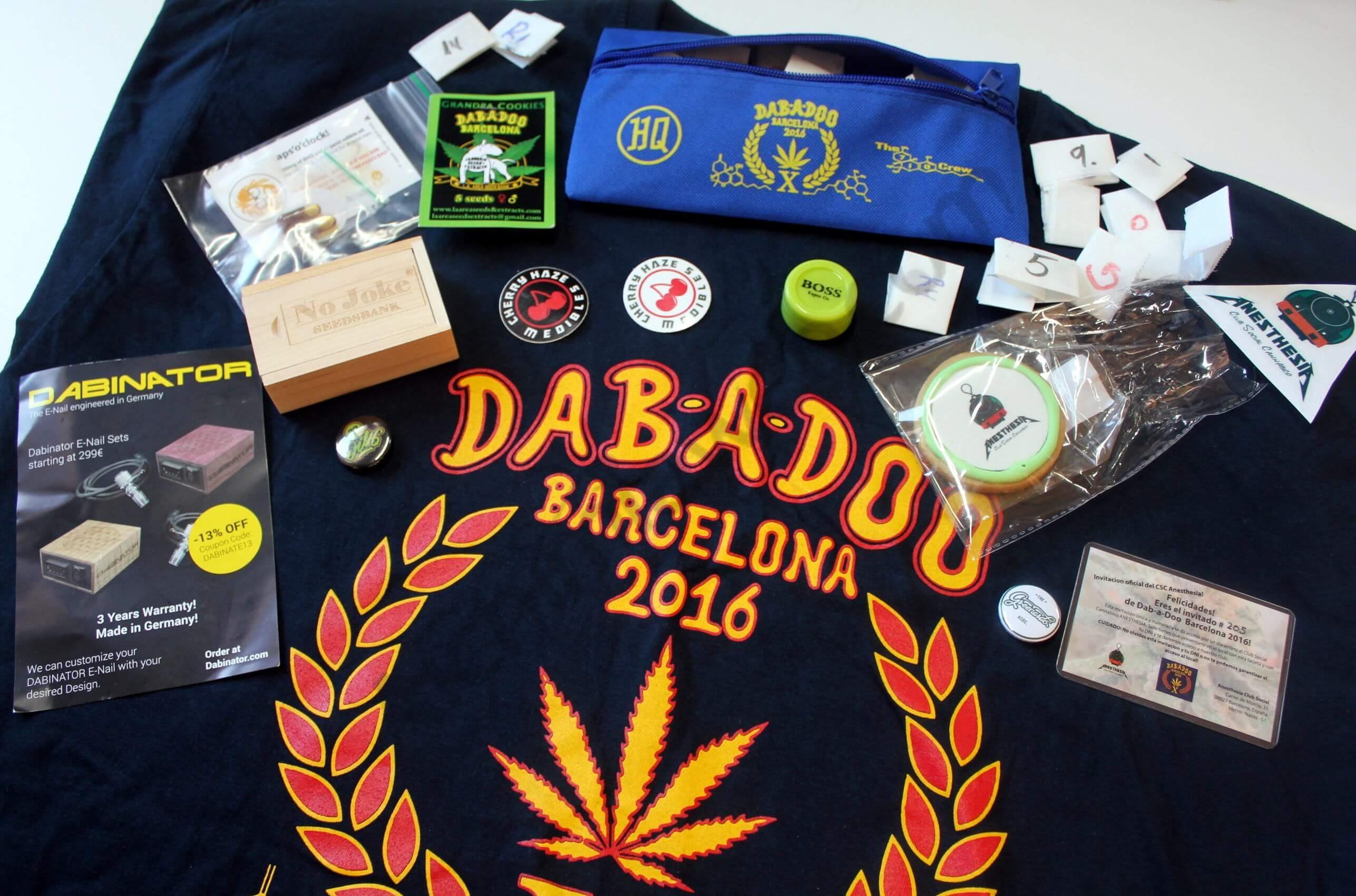Dab-a-Doo Barcelone 2016