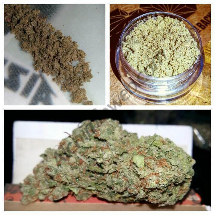 Échantillons de cannabis et résines produits par des CSC