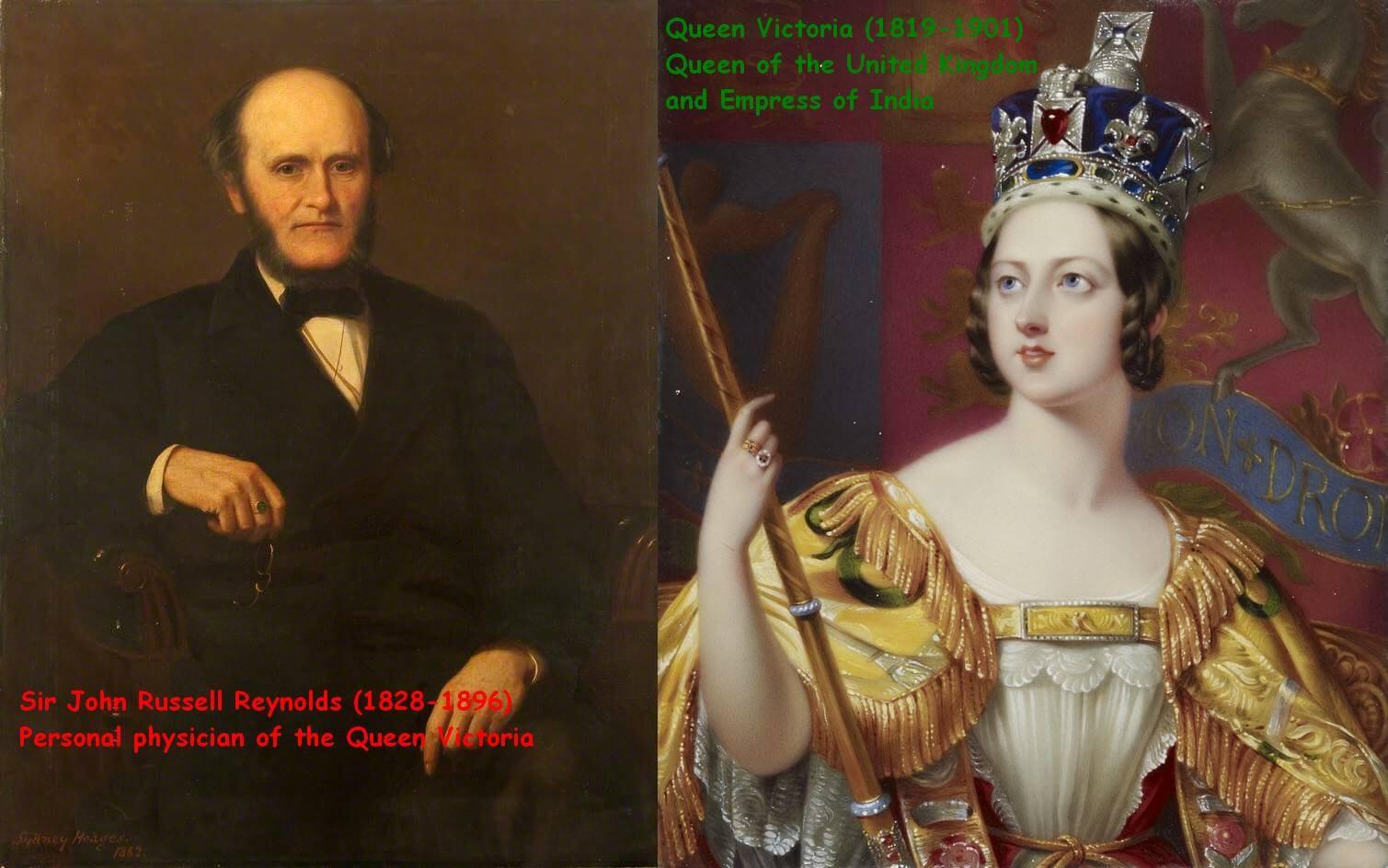 Le Dr John Russell Reynolds prescrivait régulièrement du cannabis à la Reine Victoria