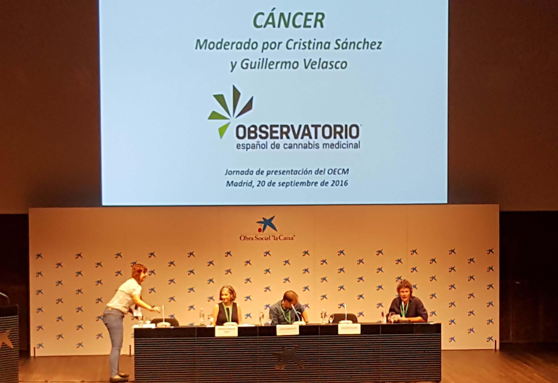 Cristina Sánchez, Guillermo Velasco et Manuel Guzmán