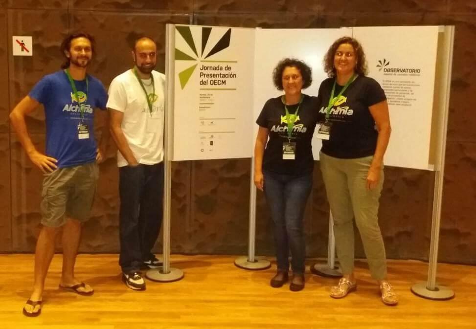 Alchimia Solidaria, un des sponsors de l'événement