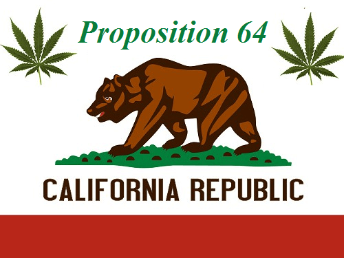 La Proposition de loi 64 légalise le cannabis récréatif en Californie