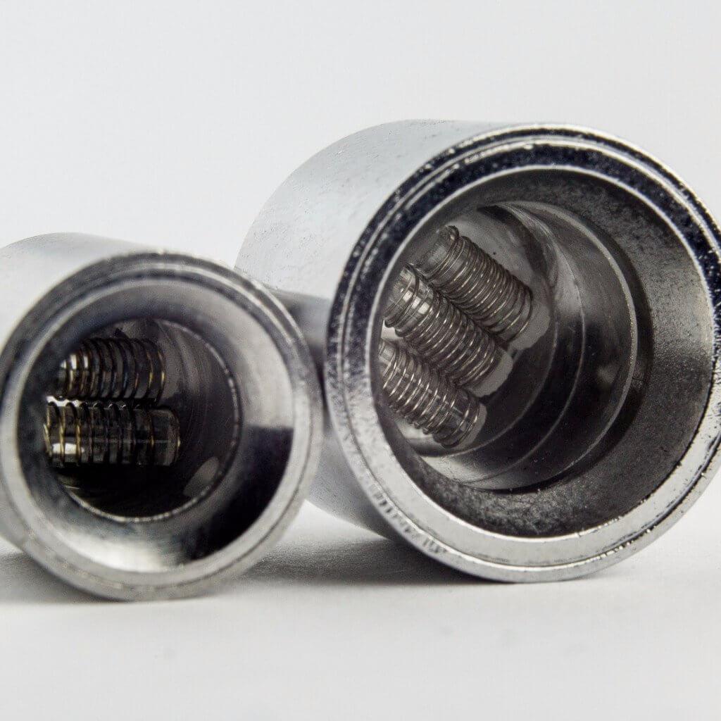 """Atomiseurs """"dual coil"""" et """"triple coil"""""""