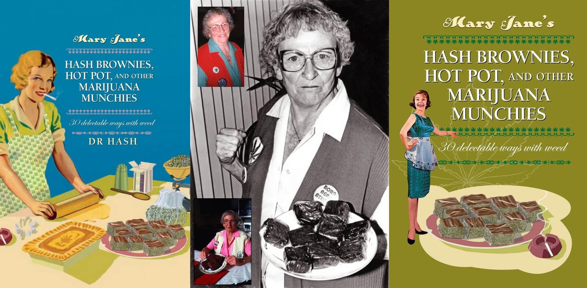 """""""Brownie"""" Mary Jane Rathbun, qui apportait gratuitement des brownies au cannabis aux patients du SIDA hospitalisés."""