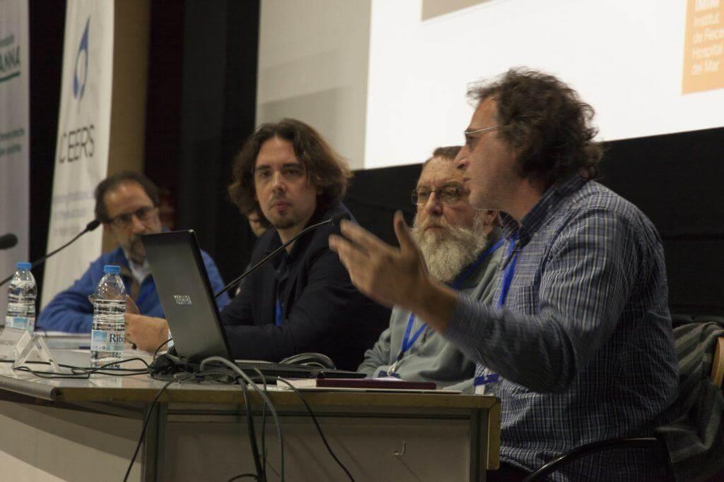 Jose Carlos Bouso en pleine conférence