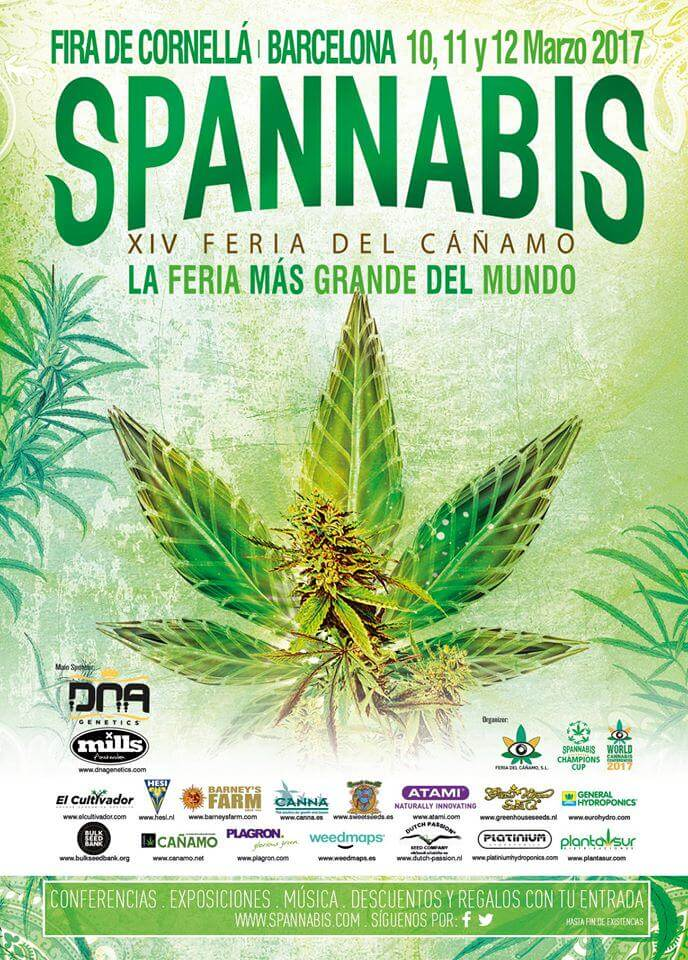 Spannabis 2017 de Barcelone