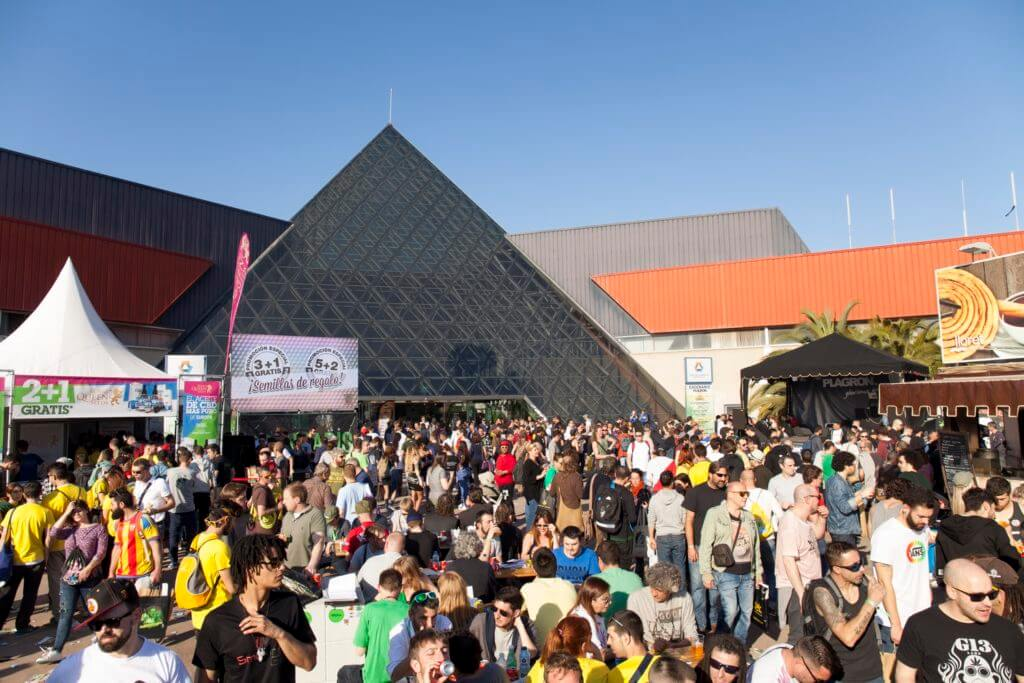 Ces trois jours de Spannabis ont réuni des dizaines de milliers d'amateurs de cannabis