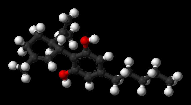 Molécule du CBD