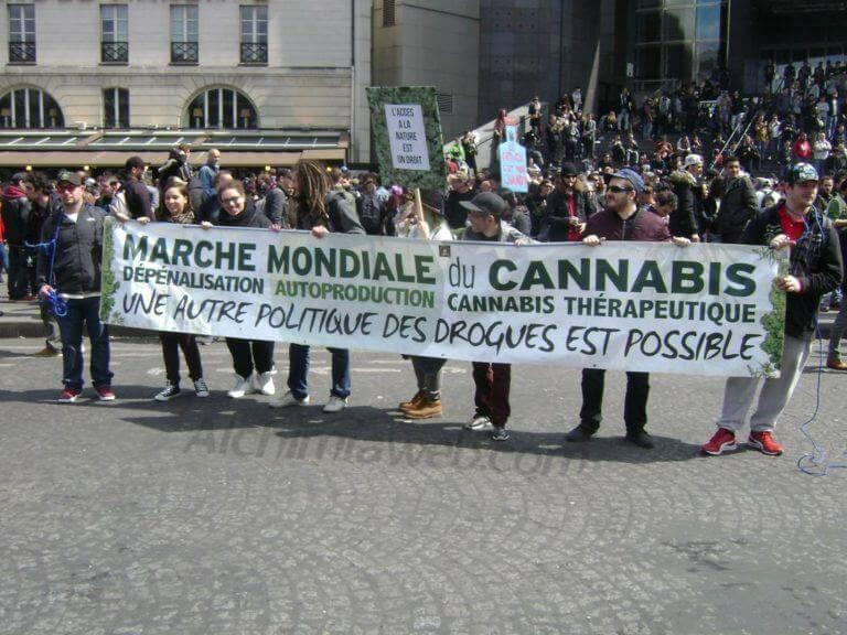 Marche Mondiale Du Cannabis, Paris 2017