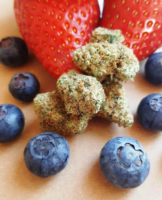 Variétés de cannabis au goût fruité