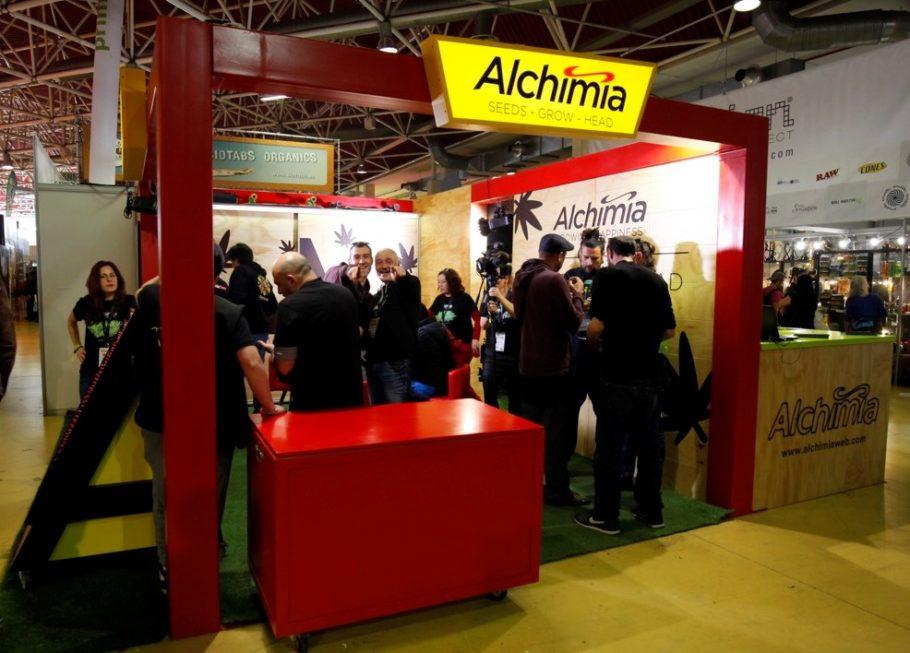Alchimia neparticipe pas à Spannabis 2020