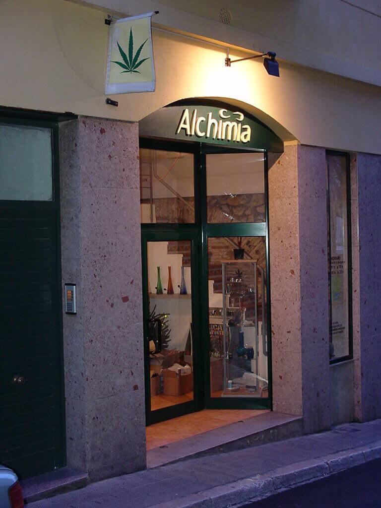 Première boutique Alchimia