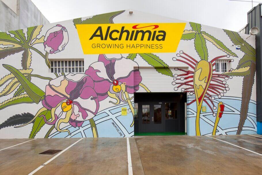 La boutique d'Alchimia aujourd'hui