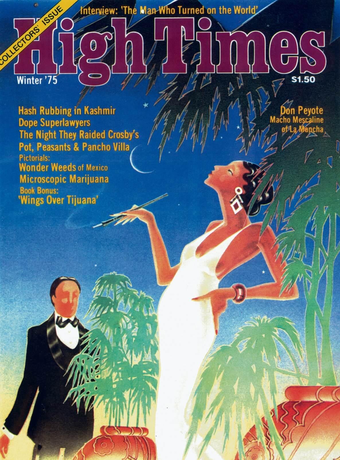 High Times, la revue cannabique de référence