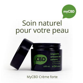 MyCBD - Crème forte Soin naturel pour votre peau