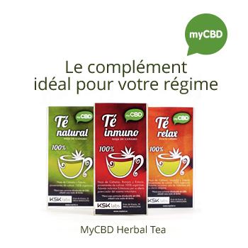 MyCBD Herbal Tea - Le complément idéal pour votre régime