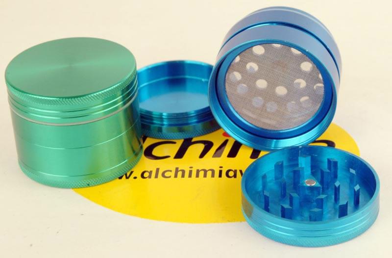 Vente de grinder avec tamis cnc couleurs 50 mm for Y griega exterieur