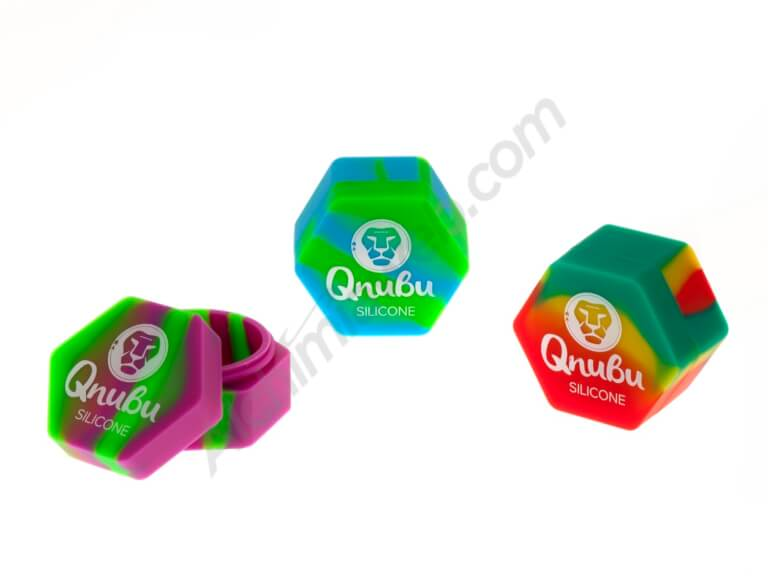 Qnubu Hexagon Silicone Jar