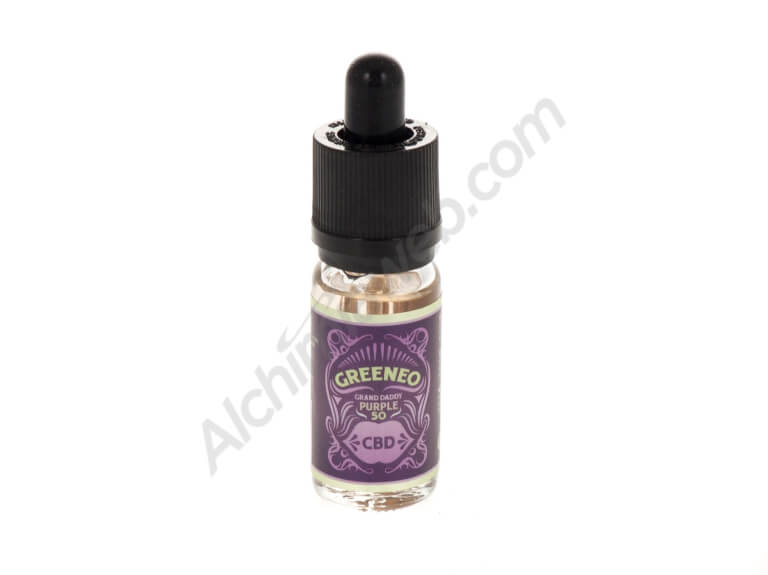 E-Liquid Greeneo Grand Daddy Purple CBD 10ml