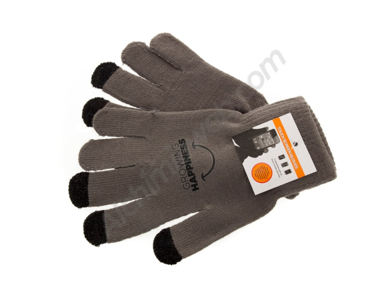 Alchimia Growing Happiness gray gloves