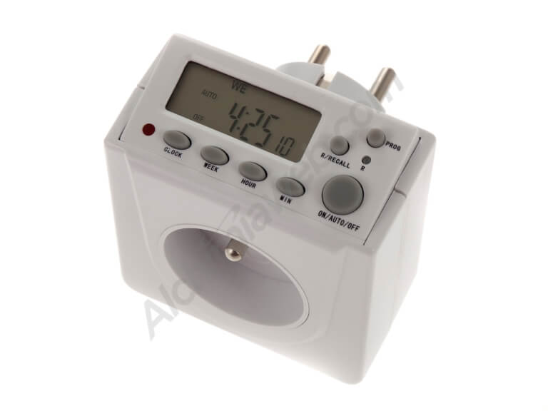 Lumatek Digital timer - French Plug